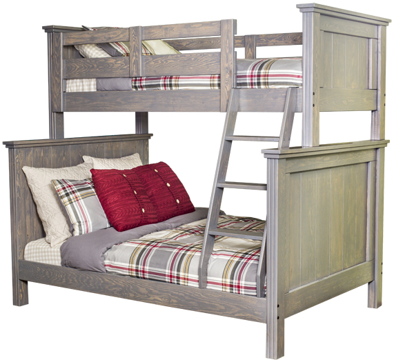 Kaon Georgian Bunk Bed Twin Double Slate showcase